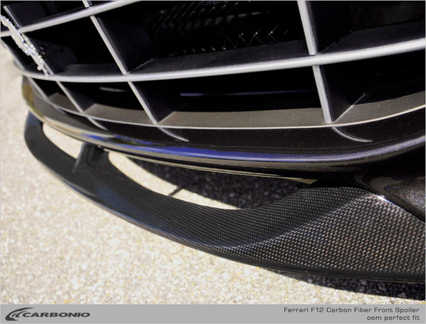 Ferrari F12 Front Spoiler (LIMITED AVAILABILITY)