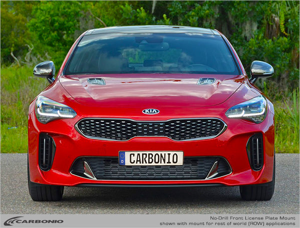 KIA Stinger No-Drill Front License Plate Mount