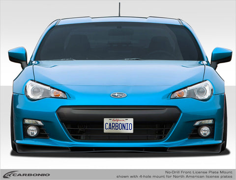 Subaru BRZ No-Drill Front License Plate Mount