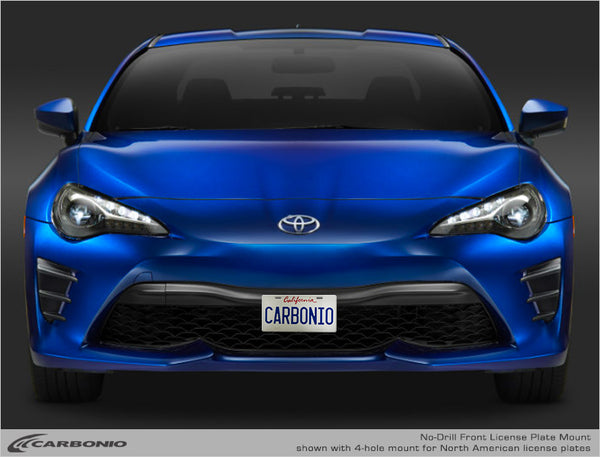 Toyota 86 (GT86) No-Drill Front License Plate Mount