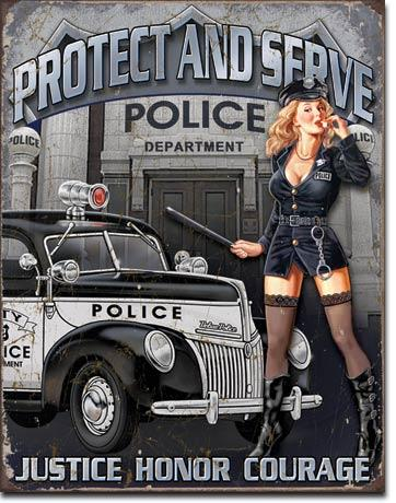 PROTECT AND SERVE 16