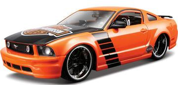 1:24 HARLEY-DAVIDSON FORD MUSTANG GT ORANGE