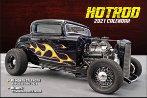 2021 HOT ROD CALENDAR WITH FREE POSTER