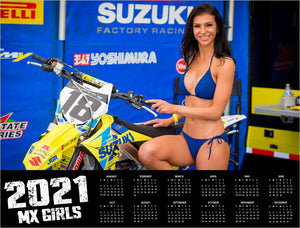 2021 MX GIRLS CALENDAR WITH FREE POSTER
