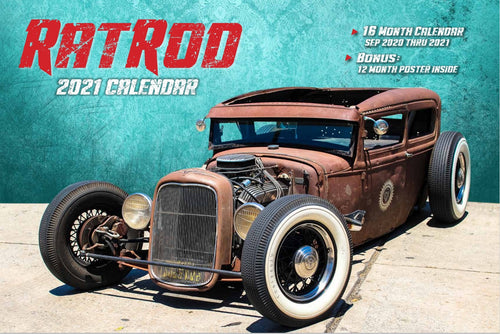 2021 RAT ROD CALENDAR WITH FREE POSTER