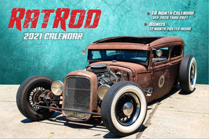2021 RAT ROD CALENDAR WITH FREE POSTER 50% OFF WITH FREE SHIPPING!