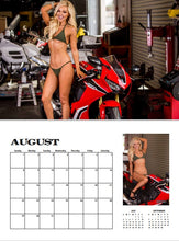 2021 SPORTBIKE HOTTIES CALENDAR WITH FREE POSTER