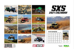 2021 SXS CALENDAR WITH FREE POSTER! 50% OFF! FREE SHIPPING!