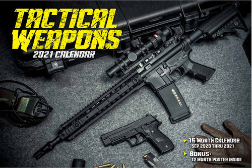 2021 TACTICAL WEAPONS CALENDAR