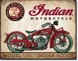 "Indian Scout 16""W x 12.5""H"