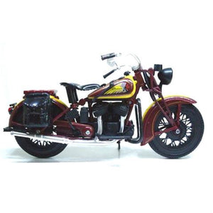 1:12 1934 INDIAN SPORT SCOUT WITH FREE ROAD RASH WRISTBAND