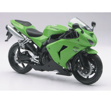 1:12 GREEN 2006 KAWASAKI SPORT BIKE ZX-10R WITH FREE ROAD RASH WRISTBAND