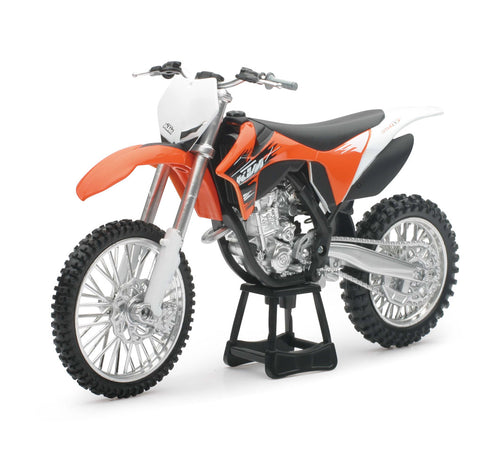 1:12 ORANGE 2011 KTM DIRT BIKE 350 SX-F WITH FREE MX WRISTBAND
