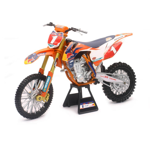 1:6 KTM RED BULL - RYAN DUNGEY CHAMPION #1 ORANGE NEWRAY