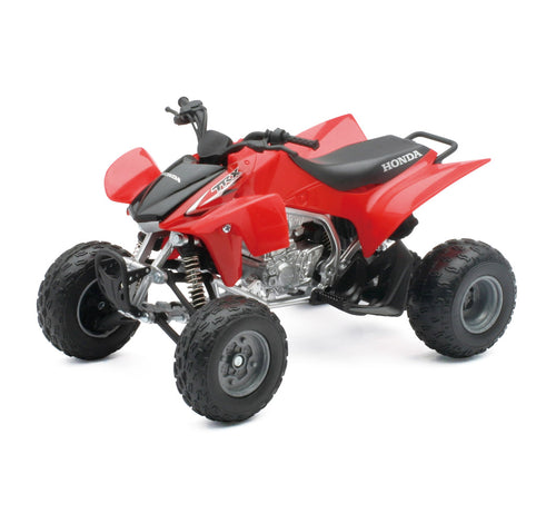 1:12 RED 2009 HONDA ATV TRX-450R FREE MX WRISTBAND