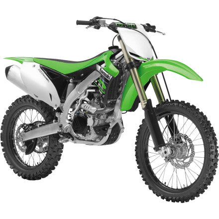 1:12 2012 GREEN KAWASAKI KF450F DIRT BIKE WITH FREE KNOBBY WRISTBAND