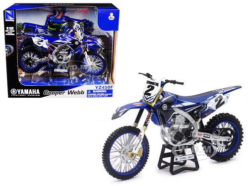 1:12 YAMAHA FACTORY RACING COOPER WEBB WITH FREE KNOBBY WRISTBAND