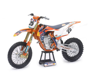 1:10 KTM RED BULL - MARVIN MUSQUIN CHAMPION #25 ORANGE NEWRAY
