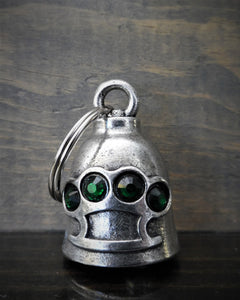BRASS KNUCKLE DIAMOND DELUXE RIDE BELL