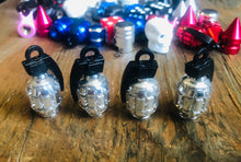 CHROME  GRENADE KUSTOM KAPZ 4 PACK