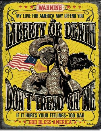 Don't Tread On Me - Warning 12.5