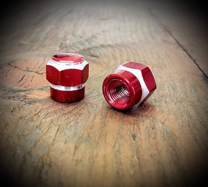 RED BILLET HEX KUSTOM KAPZ 2 PACK