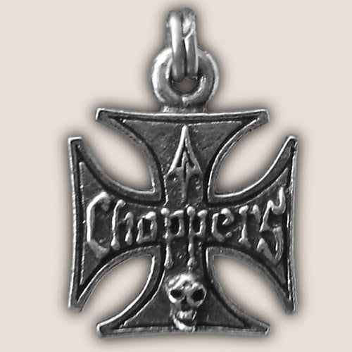 IRON CROSS ZIPPER PULL