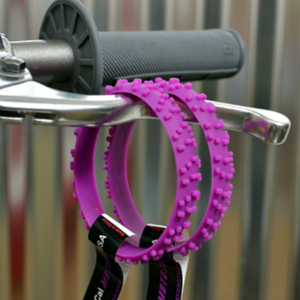 MOTOCROSS PURPLE KNOBBY DIRT BIKE TIRE WRISTBAND