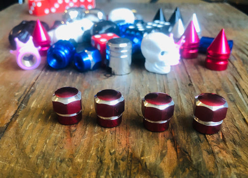 RED BILLET HEX KUSTOM KAPZ 4 PACK