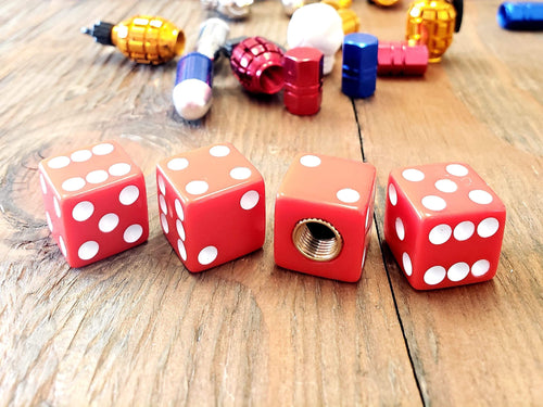 RED DICE KUSTOM KAPZ 4 PACK