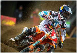 RYAN DUNGEY #1 KTM450 SX ACTION