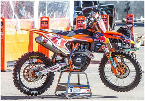 RYAN DUNGEY'S #1 KTM450 SX RACE BIKE