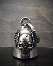 SKULL BATWING DIAMOND DELUXE RIDE BELL