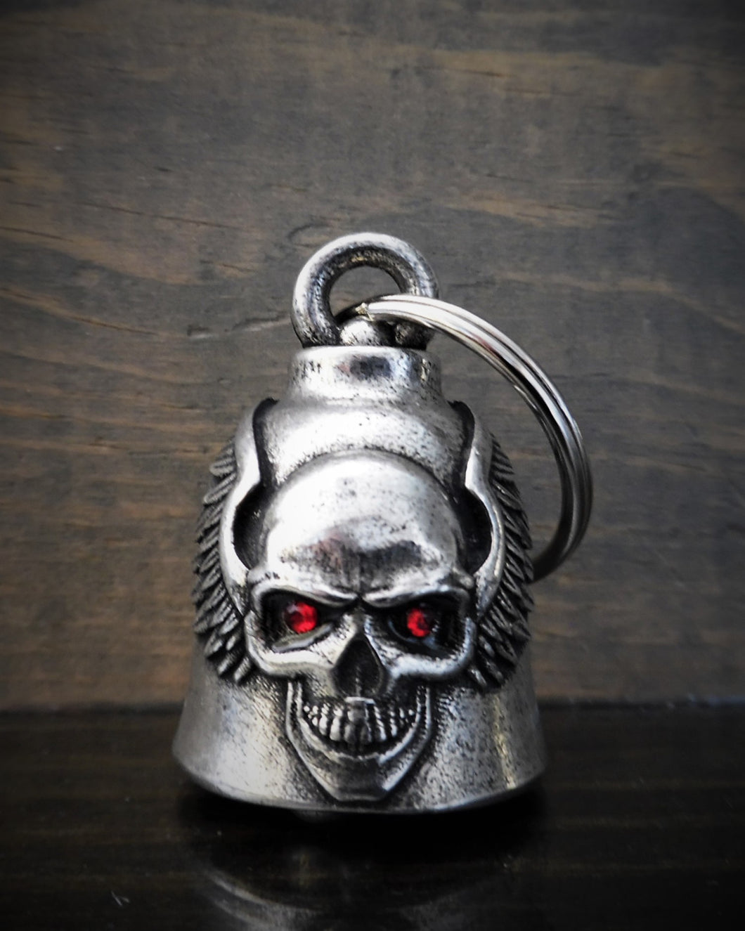 SKULL UPWING DIAMOND DELUXE RIDE BELL