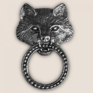 WOLF SUNGLASS HOLDER PIN