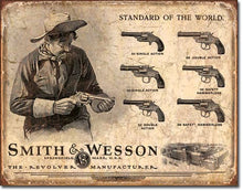 Desperate 3 Pack SMITH AND WESSON Vintage Sign Set Made in USA! Firearms Western\# 1465\# 1876\ # 1743