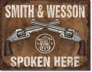 Desperate 3 Pack SMITH AND WESSON Vintage Sign Set Made in USA! Firearms Western\ # 1876\# 1465\ # 1849