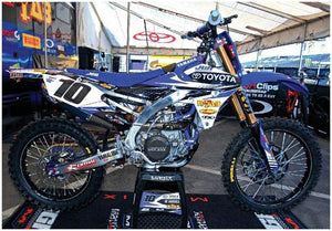 YAMAHA YZF450 SUPERCROSS RACE BIKE POSTER
