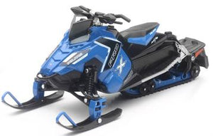 1:16 NEWRAY SNOWMOBILE - POLARIS 800 SWITCHBACK PRO-X BLUE
