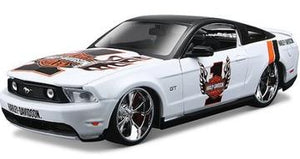 1:24 HARLEY DAVIDSON FORD MUSTANG GT (WHITE)