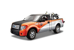1:24 HARLEY DAVIDSON CUSTOM FORD F-150 STX/FLSTF FAT BOY