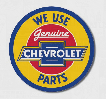 Chevy Round Genuine Parts