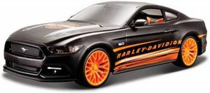 1:24 W/B HARLEY DAVIDSON FORD MUSTANG GT (ORANGE/BLACK)