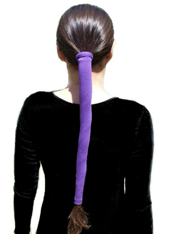 The Wrapter Hair Sock- Purple
