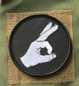YOU LOOKED! GOT YOU! COCK GAZER! CIRCLE GAME PATCH