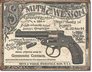 "S&W - 1892 Gov. Contracts 16""W X 12.5""H"