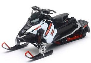 1:16 NEWRAY SNOWMOBILE - POLARIS 800 SWITCHBACK PRO-X WHITE