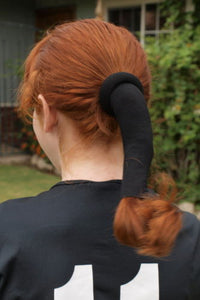 The Wrapter Hair Sock- Black