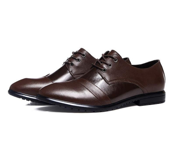 Genuine Leather Men  Flats Shoes