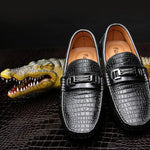 Men's Flats Casual Men Loafers Genuine Leather Slip On